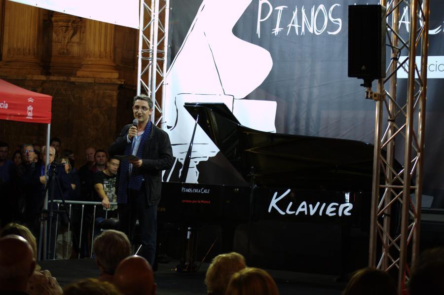 Pianos en la calle Murcia 2018