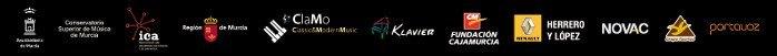 Empresas colaboradoras y patrocinadores del Concurso Internacional de Piano Clamo Music