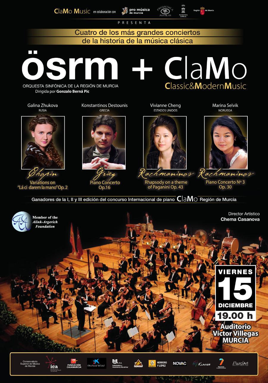 Concierto de navidad Clamo Music 2017 Murcia