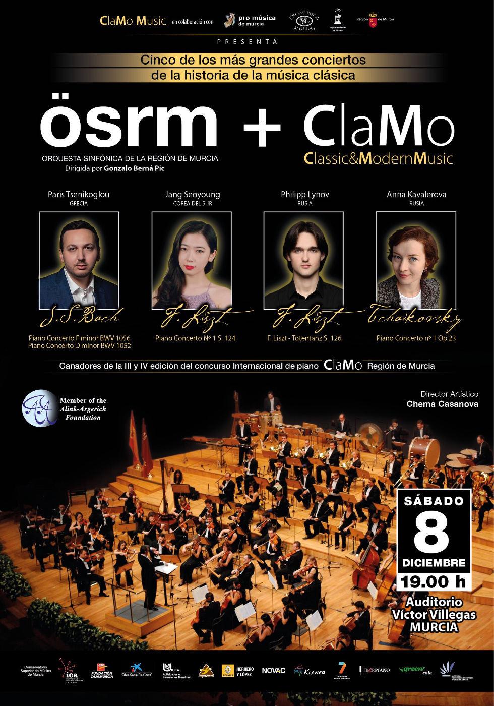 concierto piano murcia clamo music 2018