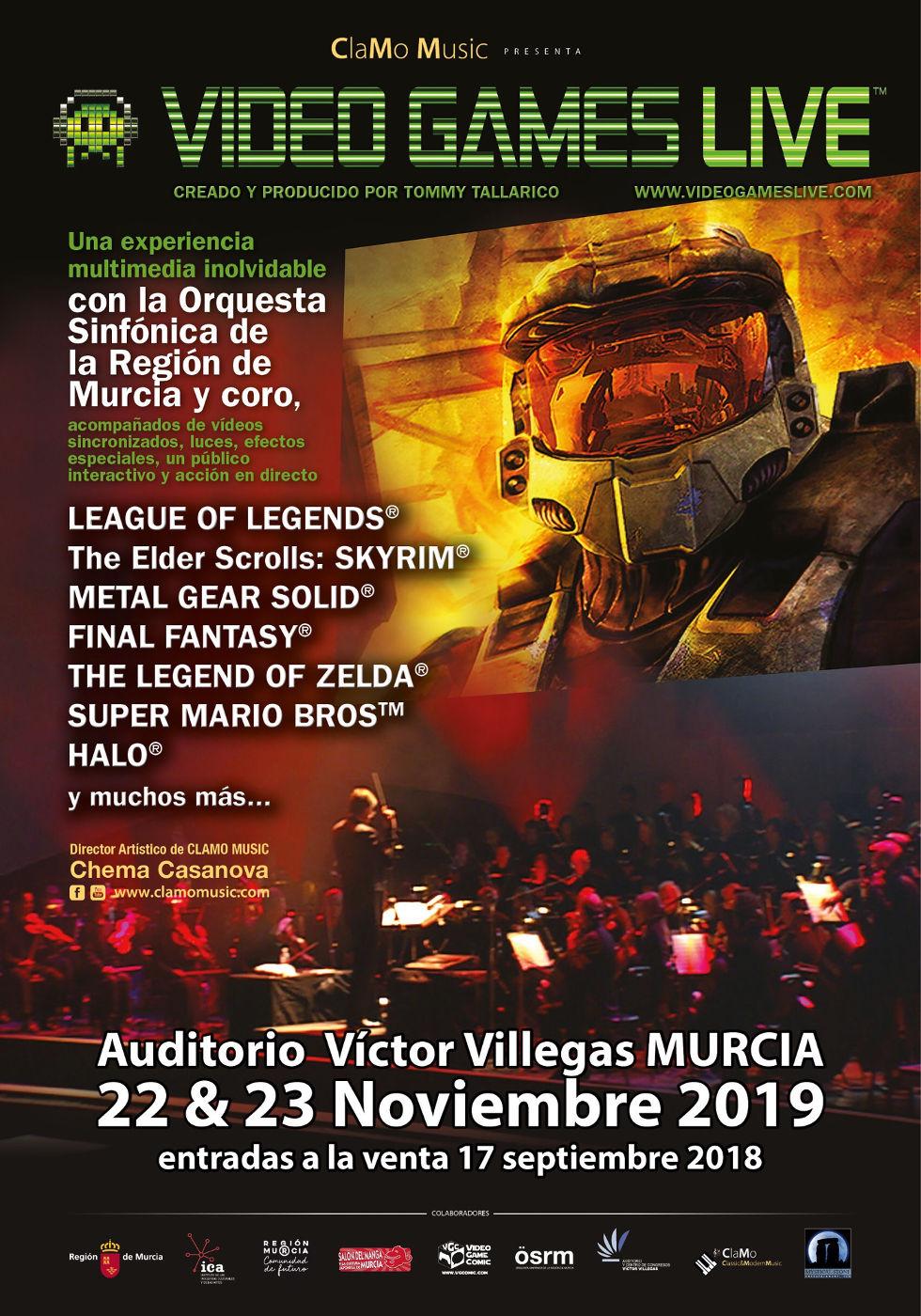Video Games Live in Murcia