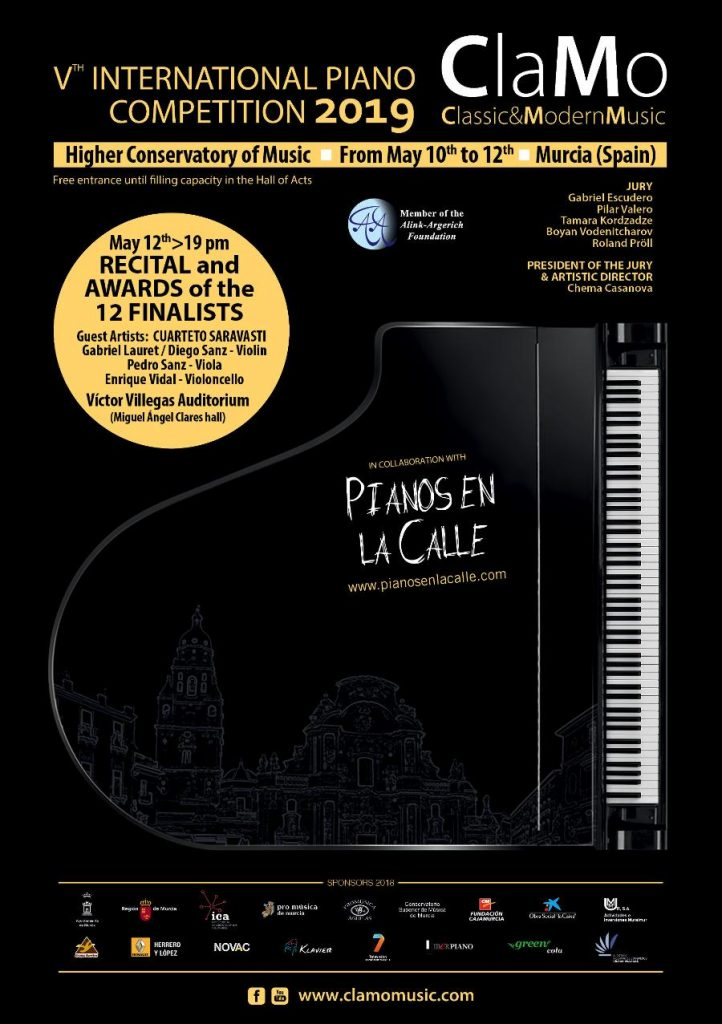 V Clamo Music International Piano Competition 2019