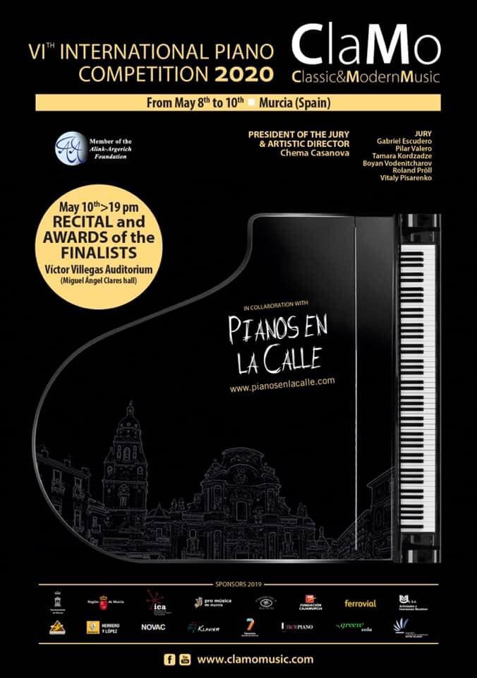 VI International Piano Competition Clamo Music 2020
