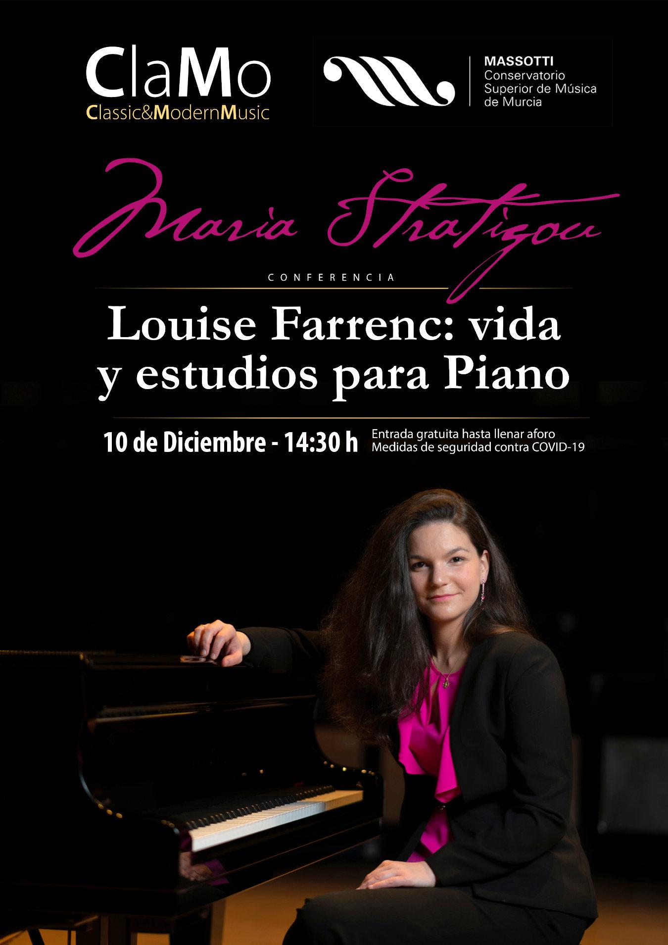 Conferencia Maria Stratigou Conservatorio Superior de Música de Murcia 2021